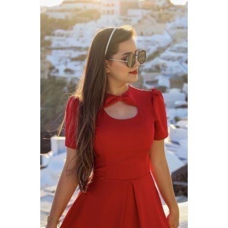 Vestido Midi Laço de Princesa SOB ENCOMENDA 10 DIAS