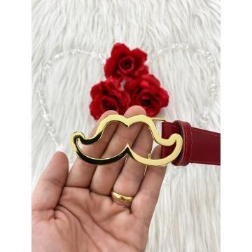Cinto Mustachinho Vermelho