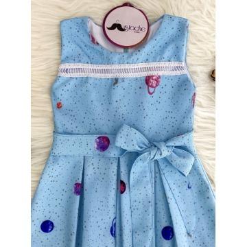 Vestido Infantil Minha Princesa SOB ENCOMENDA 15 DIAS ÚTEIS